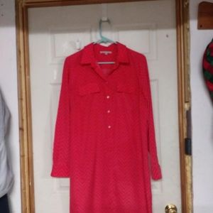 Gap long sleeve dress or shirt...
